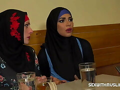 Muslim woman opened up her legs for ID's