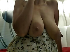 Sexy Milf With Big Natural Mammories POV