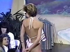 Three retro topless bathing suit contests