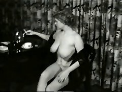 Saucy Smokin Cougar from 1950's