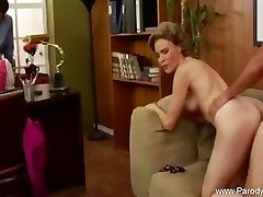 Plumb The Retro Milf At The Office