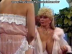 Sexy retro stunner horny seduction