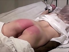 Petite Victorian dame getting a hard penalty