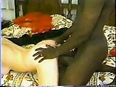 Classic Interracial - Hot Brunette Gets A Big Black Pipe.elN