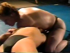 Hard-core lesbian Sex Struggle on Academy Wrestling