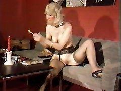 Vintage Lesbian Urinate Play