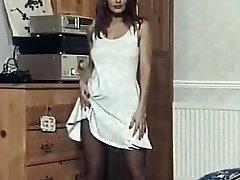 Imagination  - vintage striptease dance nylons heels
