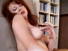 Redheaded MILF In Retro Underwear