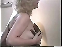 Retro cuckold video wife and two Big Black Cock