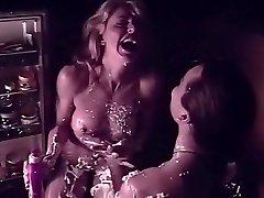 Exotic pornstar Sharon Kane in finest pussy eating, blonde xxx clip