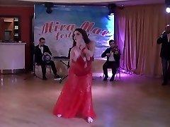Milf stomach dance