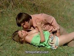 Boy Tries to Seduce teen in Meadow (1970s Vintage)