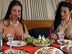 2 busty pierced sluts having fun