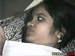 Indian Couple Having Lovemaking