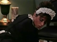 Old-school Scene Heather Lee As A Maid