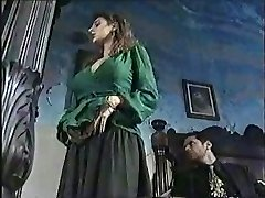 Sexy chick in old school porn flick 1