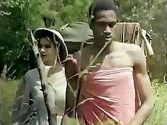 Tarzan rams his oversized love club deep into Jane�s raw puss