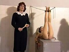 Georgina Lewis spanked in film House detention 3