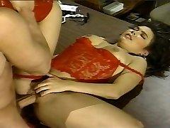 Asian lingerie vintage slit hammered