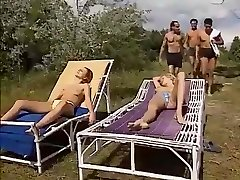 Glorious Homemade record with Group Sex, Outdoor episodes
