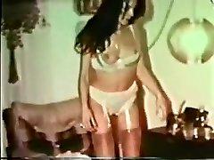 Amazing homemade Vintage, Brunette porno video