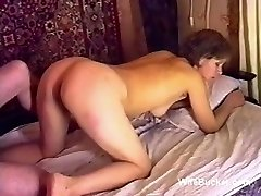 Russian porn bang-out on the couch ussr retro