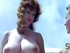 Antique nudist camp scene