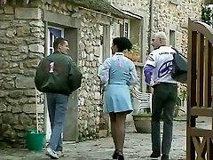 Debora Coeur - German Maid humped by Stranger