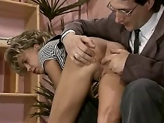Antique nubile porn with a skinny blonde sucking