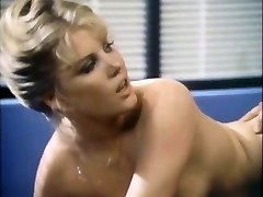 Stud with mustache ploughs breasty blondie in the office