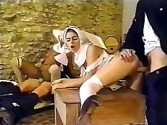 Sloppy policemen busted having an intimate affair with sexy nuns