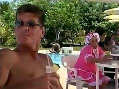 Bienvenidos Rosa En La Playa