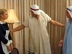Demia Moor, Naughty Maid enjoys Double Penetration