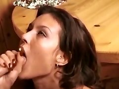 Retro fellatio-facial compilation
