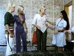 Five girls hot as lava