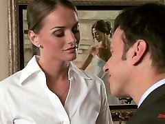 Marvelous nympho Ashlynn Brooke has a history of seducing other girls's gents