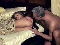 Rita Faltoyano wakes up with finger in her backside