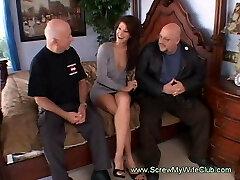 Mischievous Housewife Gets Fucked By Total Strange Men Swinging