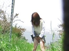 jadenetus DLF40012 Outdoor Excretion Series Girls Peeing While Standing