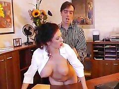Very hot secretary