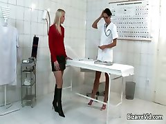 Nasty and sexy doctor gets her cunt part5
