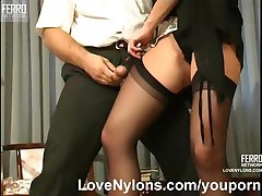Hot nylon sex