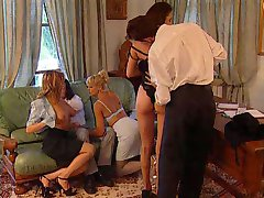 groupsex at the office - real hot orgy