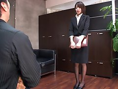 AzHotPorn.com - Thick Guests Only Office Secretary 1