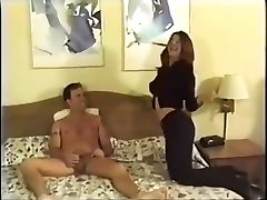 Amateur guy fucks cute crossdresser