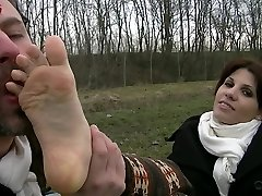 UI041-In the Country With Leila-Foot Fetish Humiliation