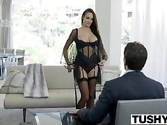 TUSHY Hot Alektra Blue Assfucked by Huge Cock