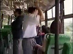 אוננות אוטובוס