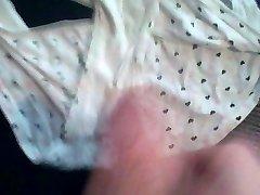 Cumming on some panties