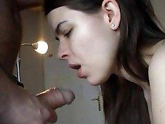 Zuzinka in hot oral action